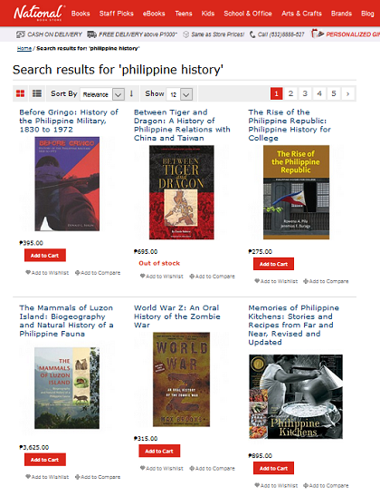 Buy filipino books online top ten bookstores 9 national bookstore gumiabroncs Choice Image